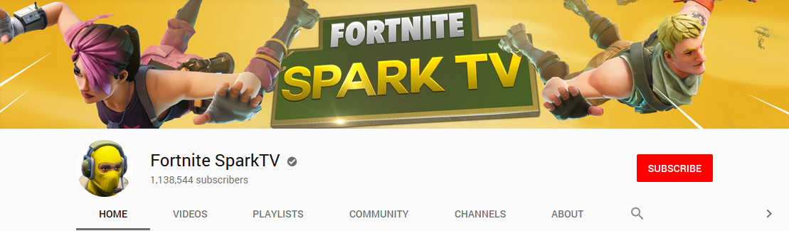 fortnite youtube banner