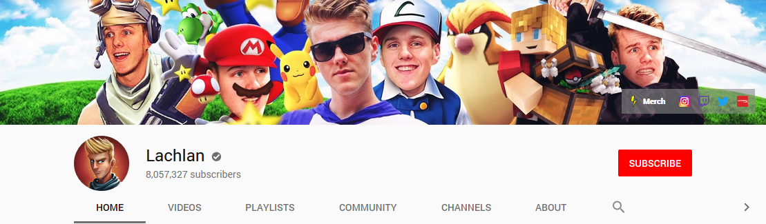 gaming channel banner