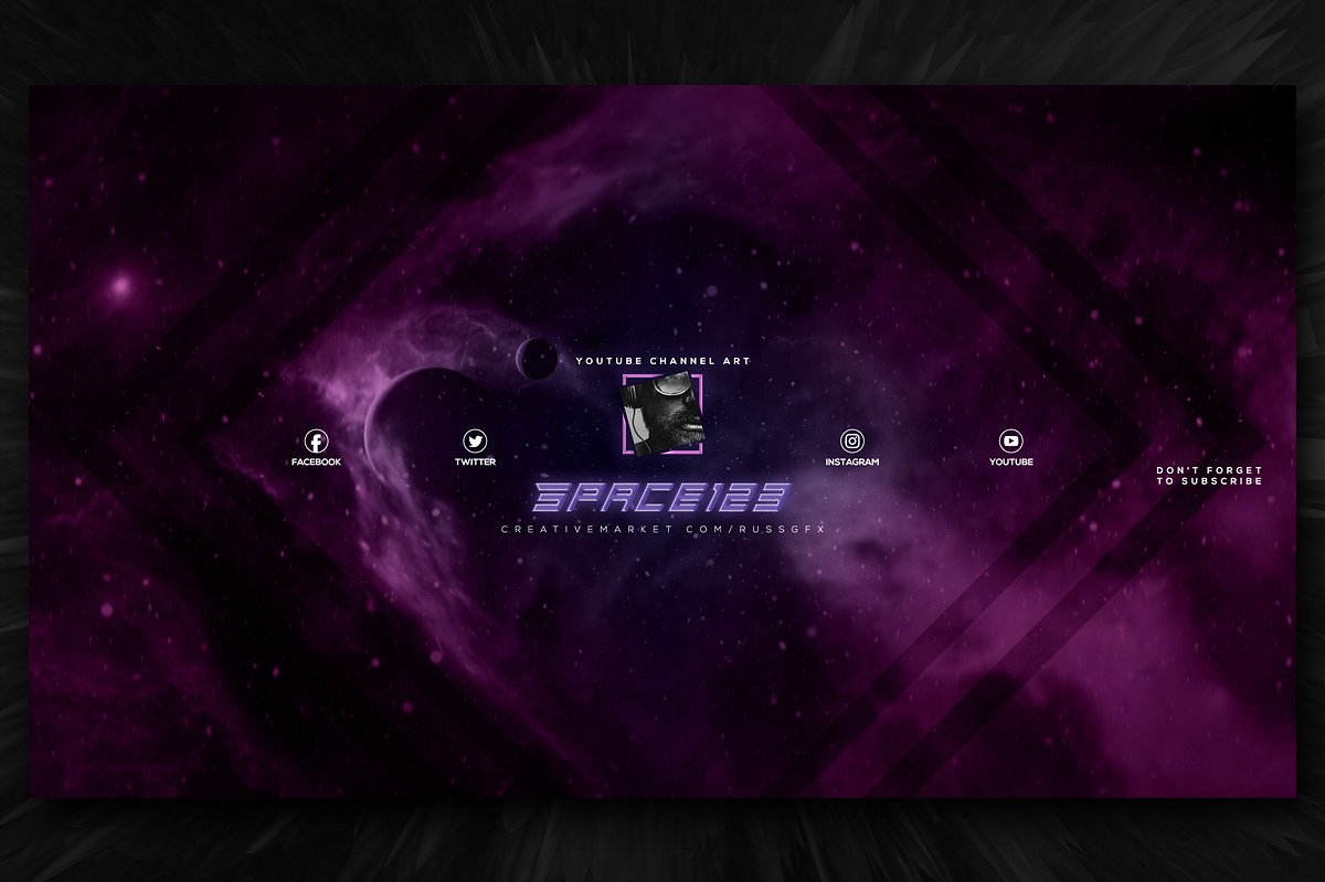 20  gaming youtube channel art templates for gamers vlog