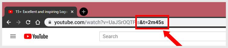 Manually add Youtube Timestamp