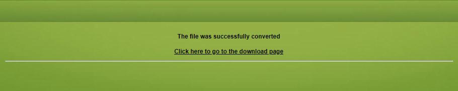 ConvertFiles Download WAV file