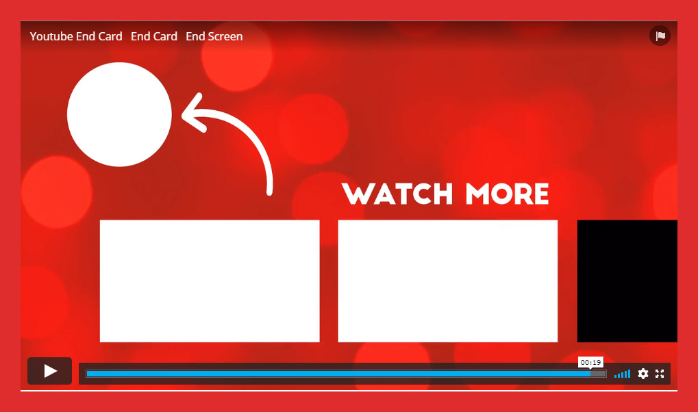 youtube end card video template