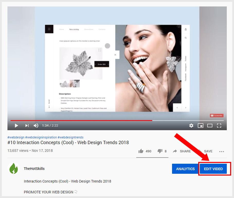 youtube thumbnail size edit video