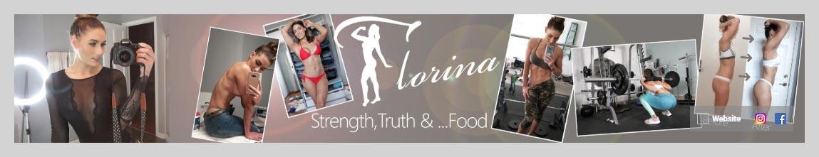 Florina Fitness YouTube Channel Art Design