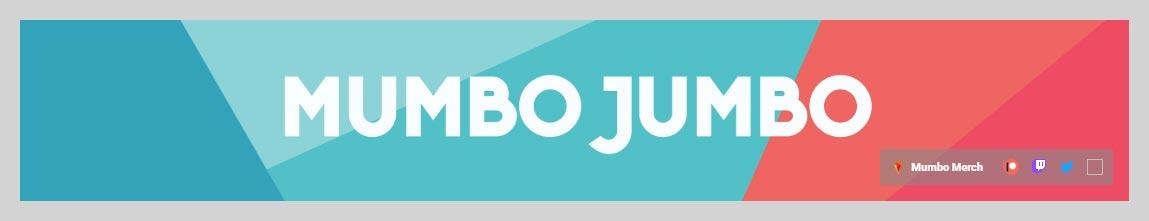 ThatMumboJumbo YouTube Channel Art Design