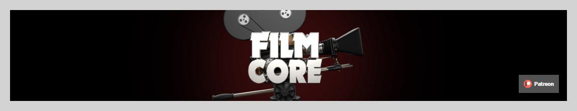 TheFilmCoreOne YouTube Channel Art Design