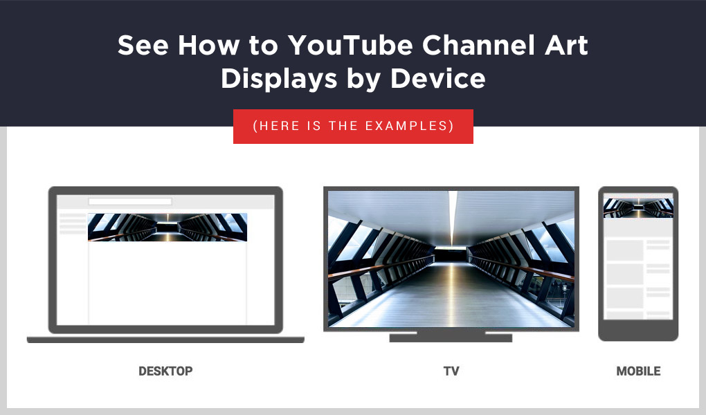 YouTube Channel Art Display Example