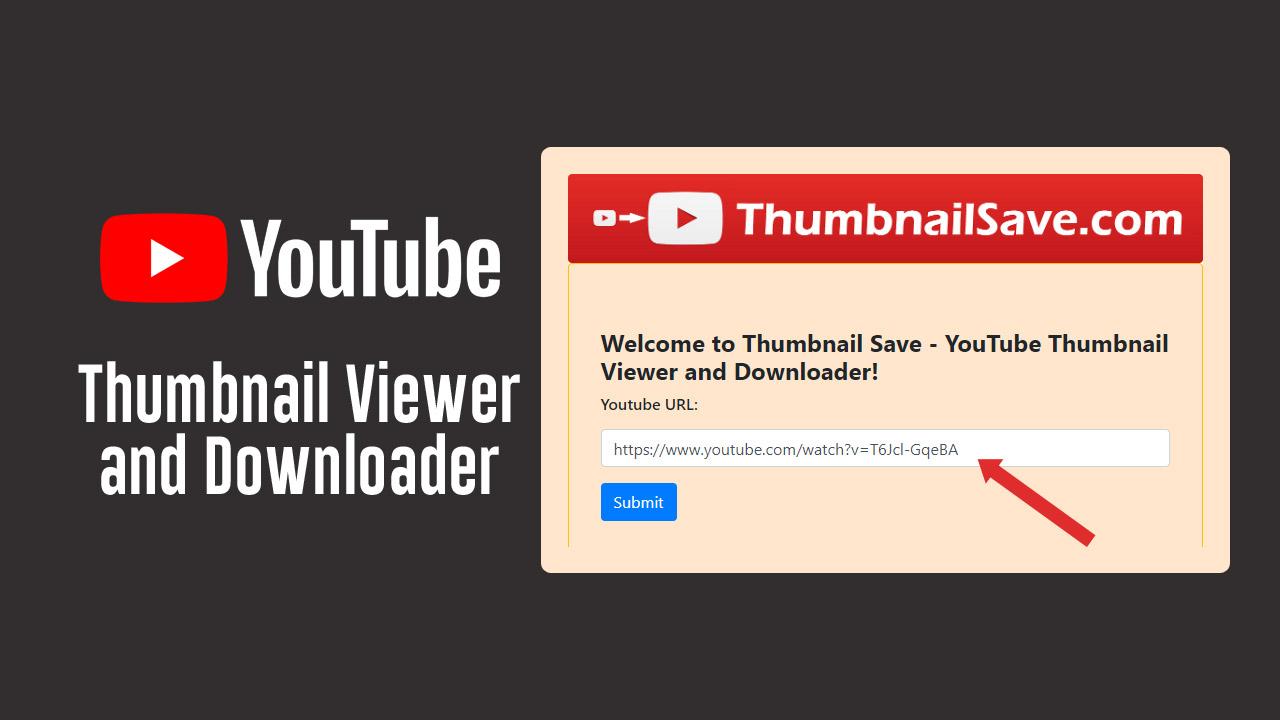 Thumbnail Save YouTube Thumbnail Viewer and Downloader