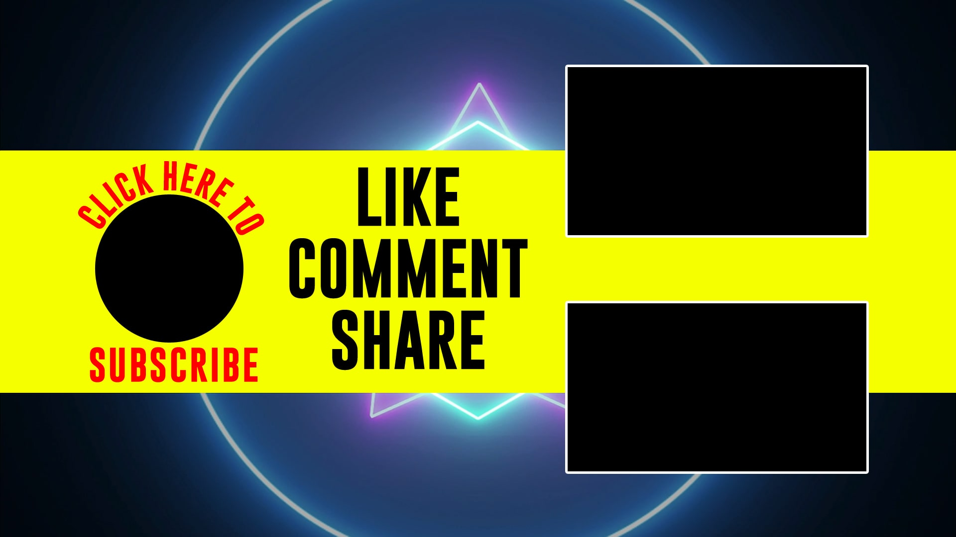 youtube outro video templates