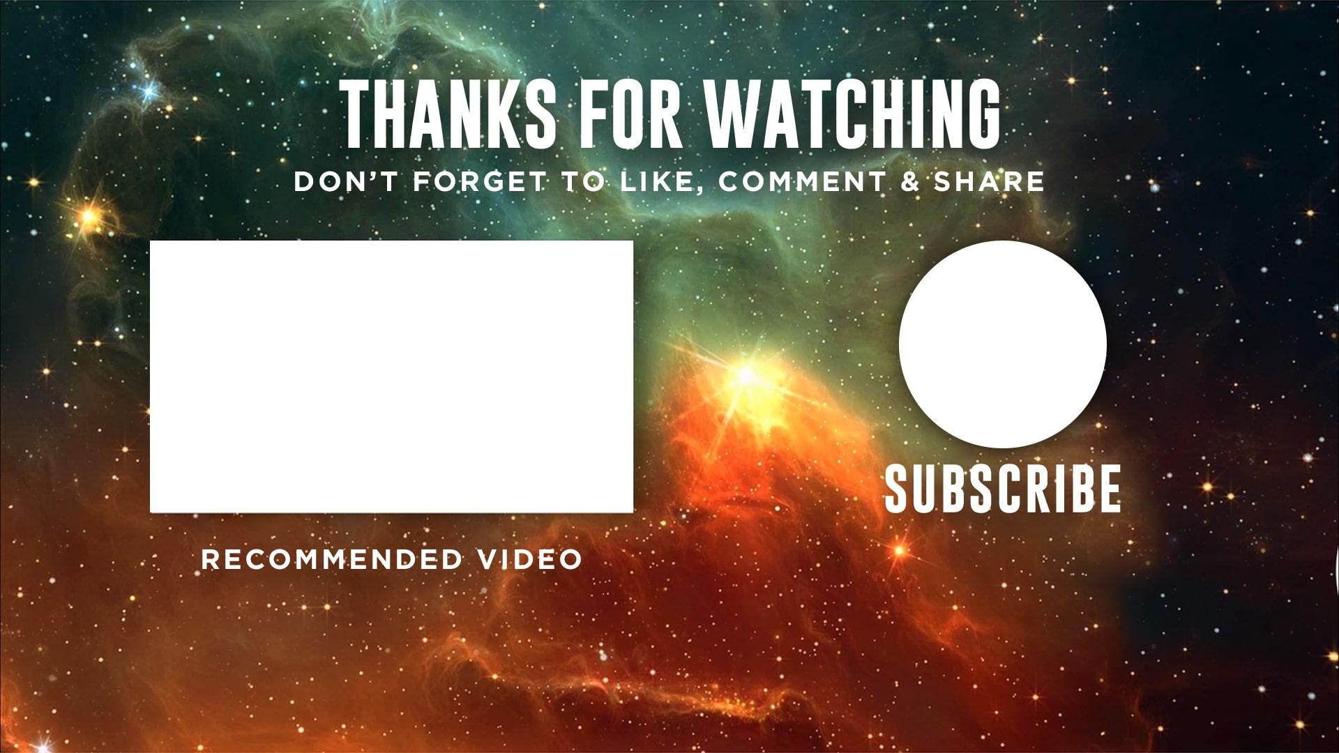 free outro templates
