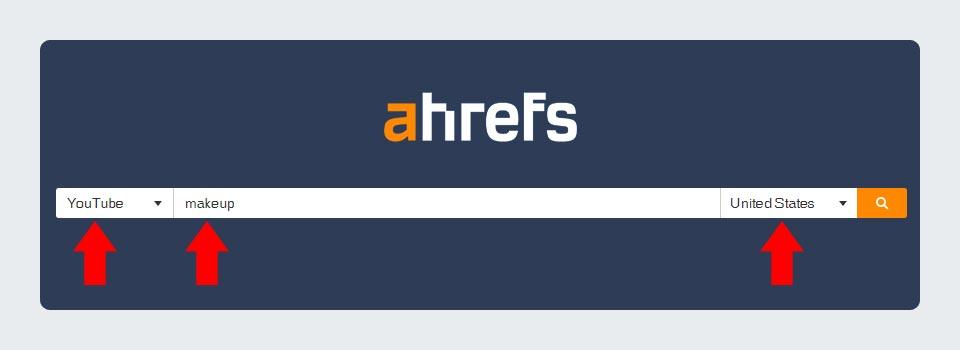 Ahrefs YouTube Keyword Research Tool