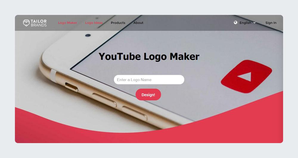 TailerBrands - YouTube Logo Maker