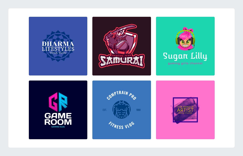 YouTube Logo Templates