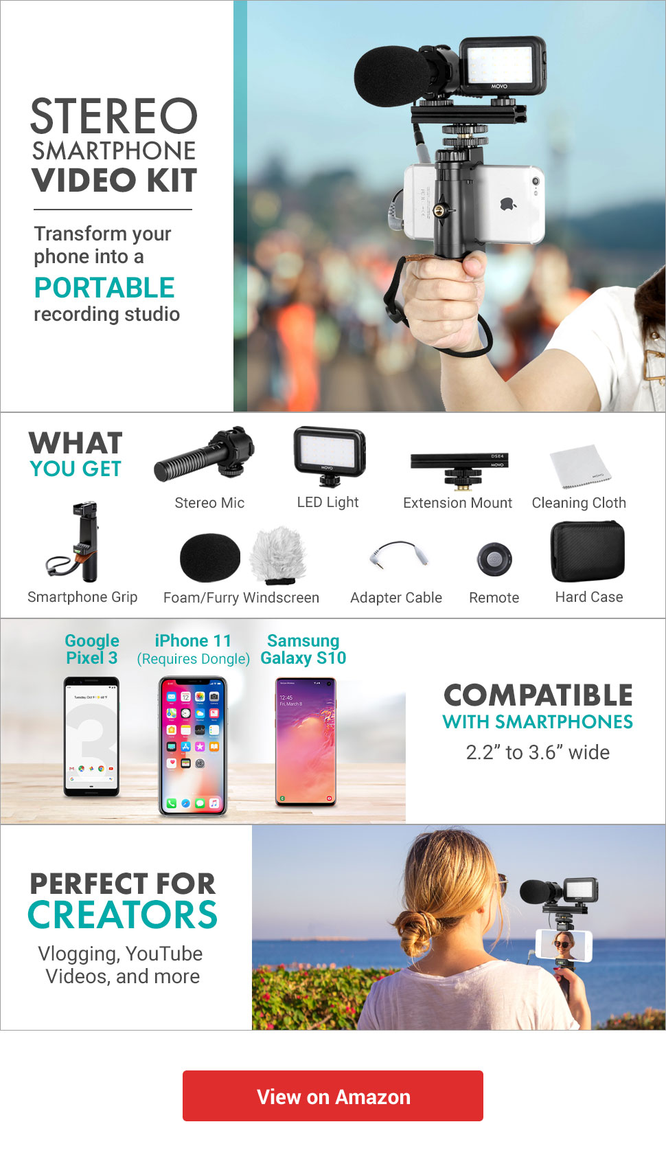 Stereo Smartphone YouTube Video Kit