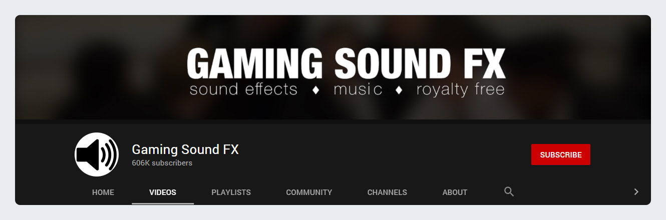 Gaming Sound FX