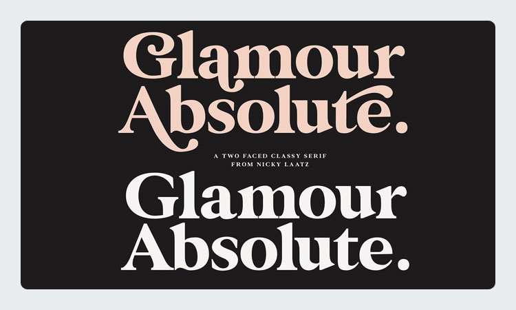 Glamour Absolute Font