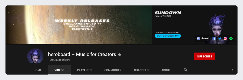 Heroboard - Music for Creators