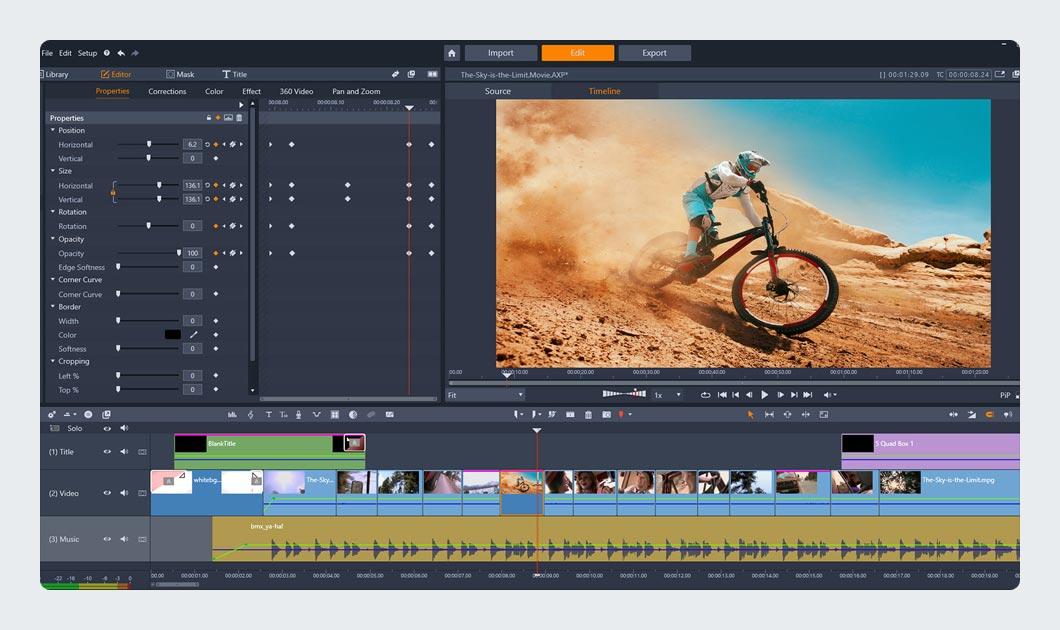 Pinnacle Studio Ultimate Video Editing Software