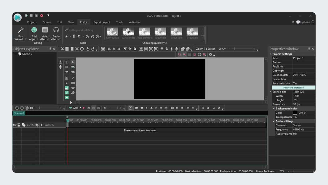 VSDC Free Video Editing Software for Beginners
