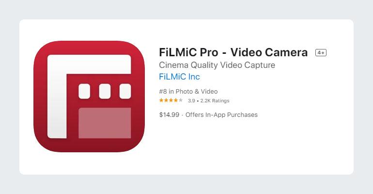 Fimlic Pro Video Camera App