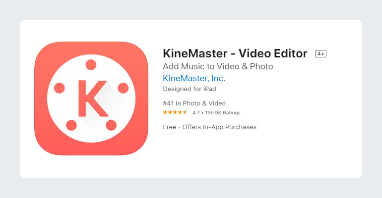 KineMaster Best Video Editor for YouTube
