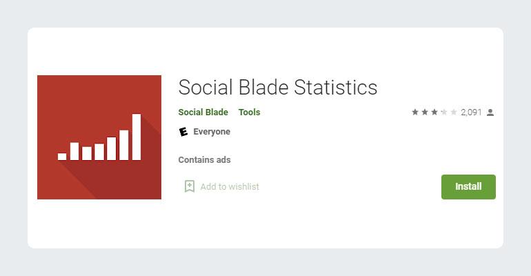 Social Blade YouTube Statistics