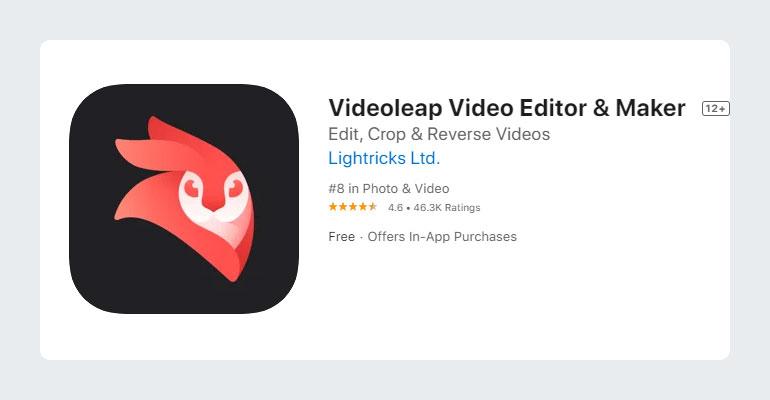 Videoleap YouTube Video Editor App