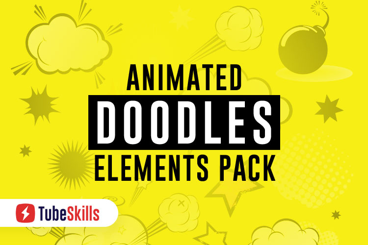 Animated Doodles Elements Pack