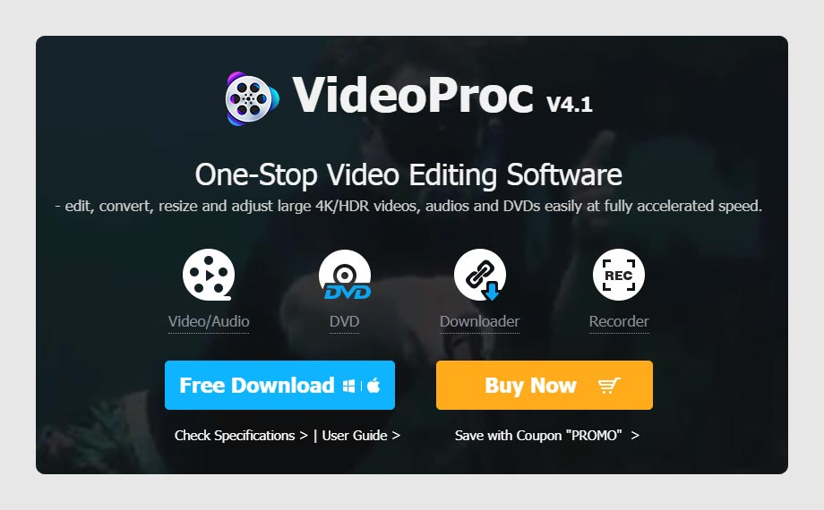 VideoProc YouTube Video Download Application