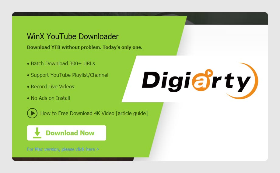 WinX Free YouTube Video Downloader