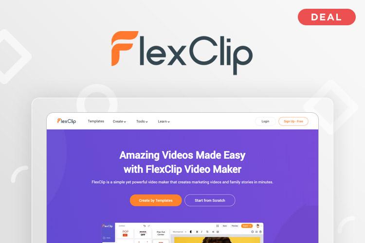 FlexClip Deal - Free Online Video Maker