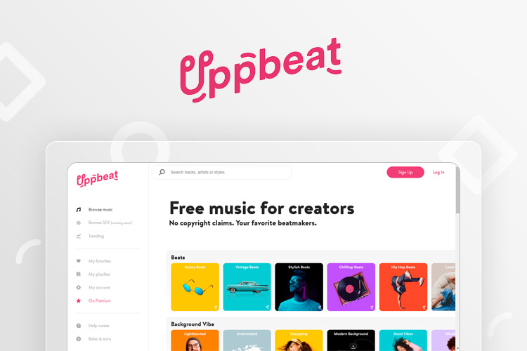 Uppbeat - Free Music for YouTube Creators